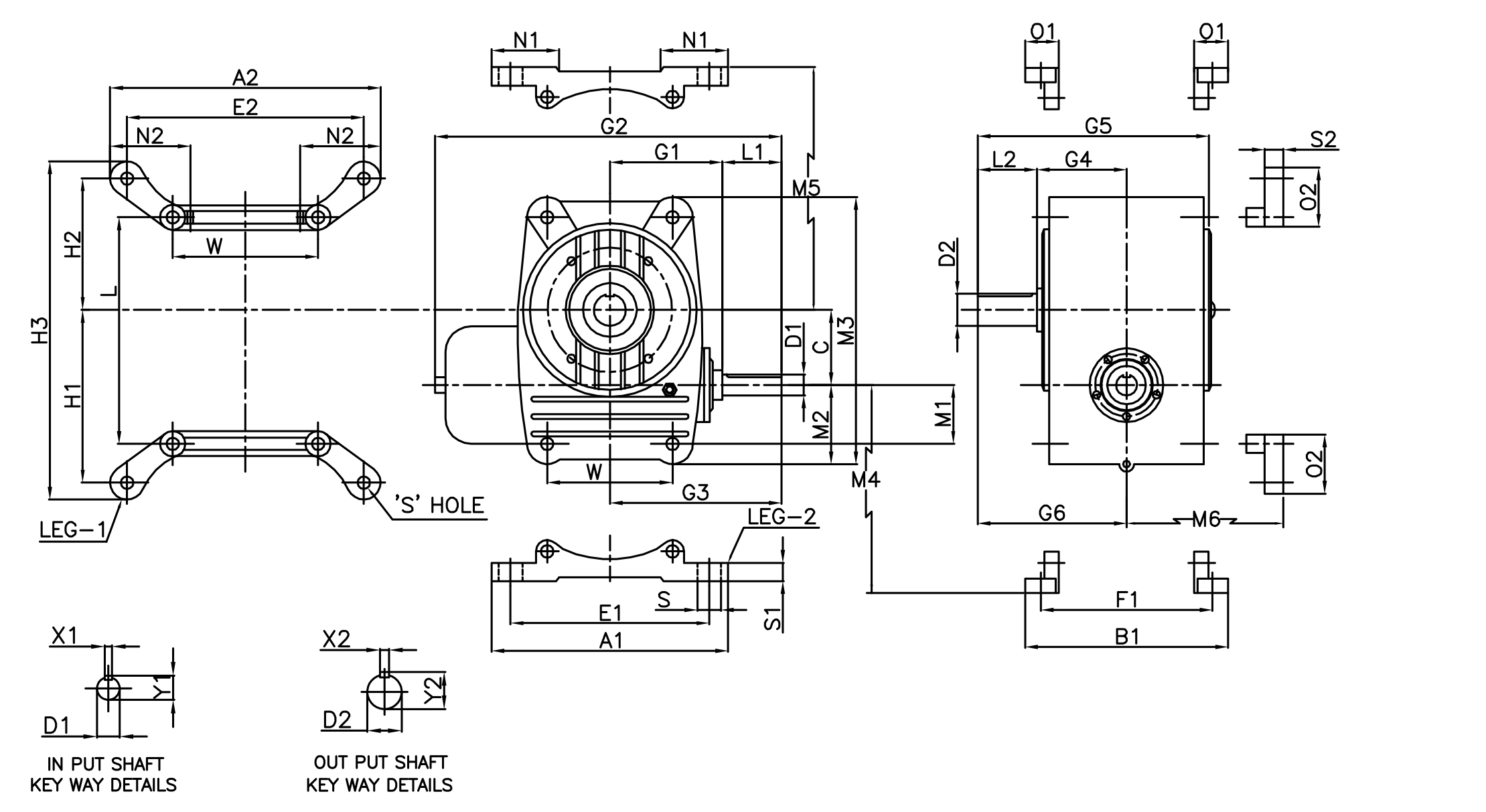 Adaptable Type Worm Gear Gearbox/Unit Manufacturer, Ahmedabad